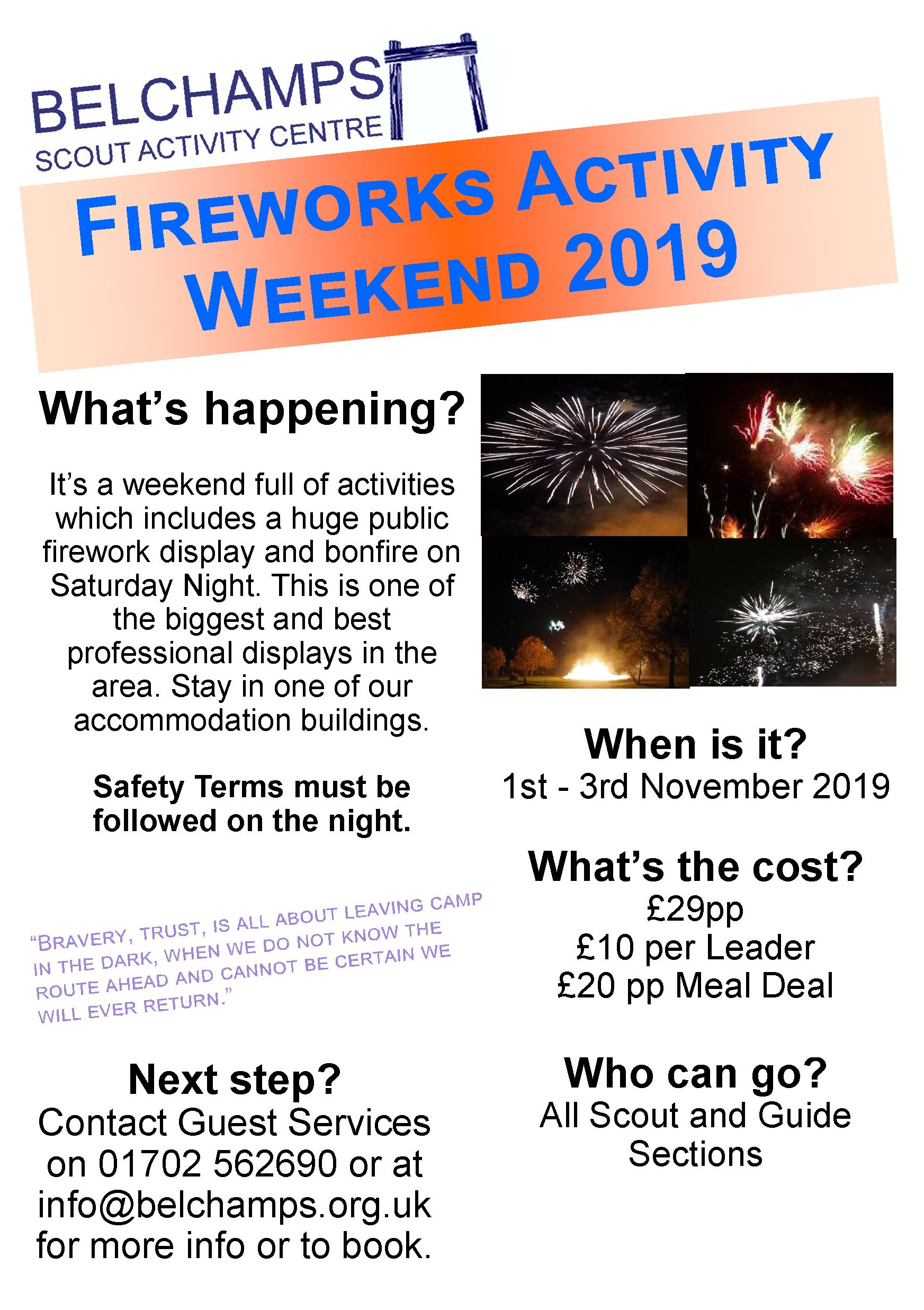 Fireworks activity weekend 2019_5