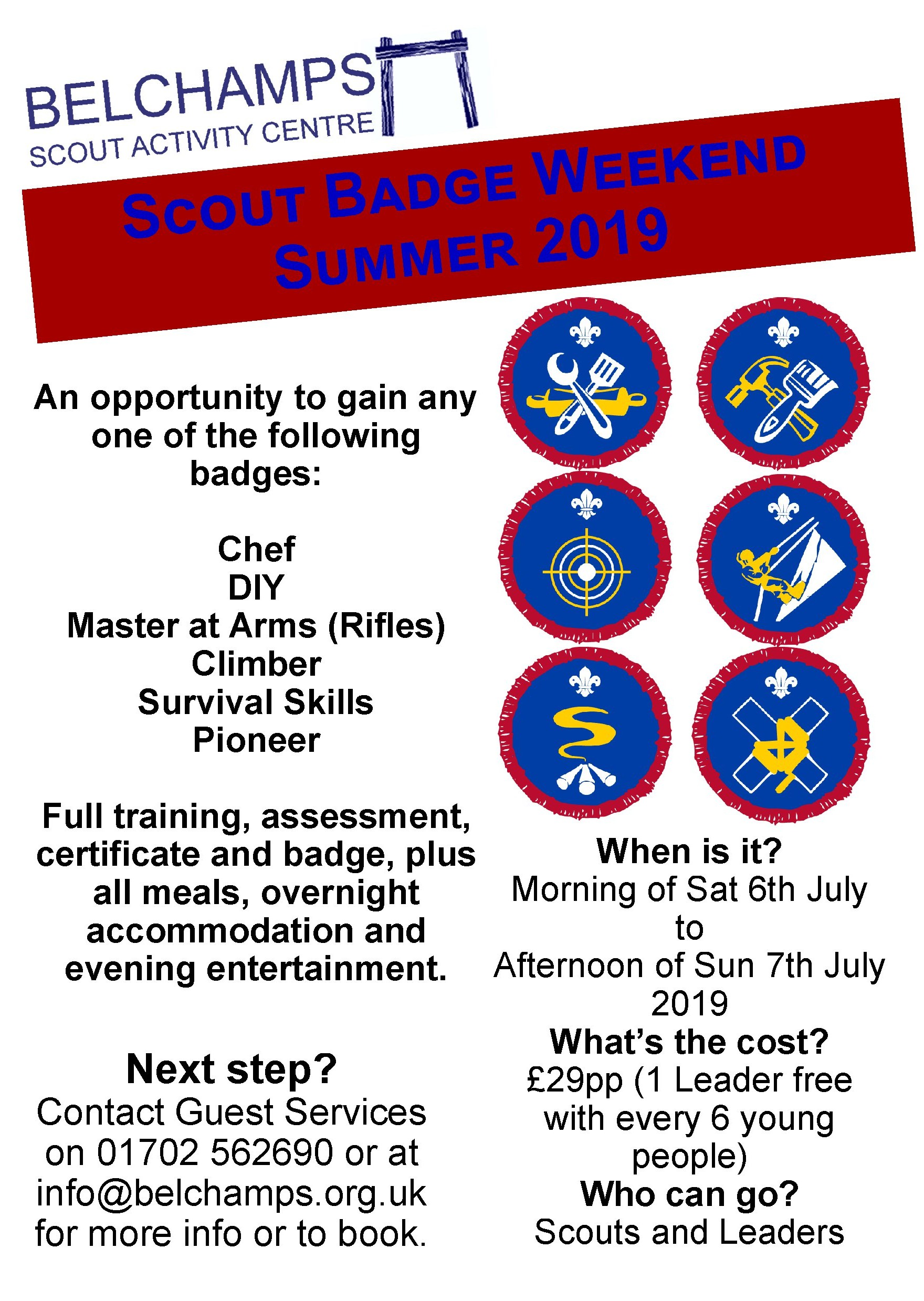 Scout badge weekend July 2019_7